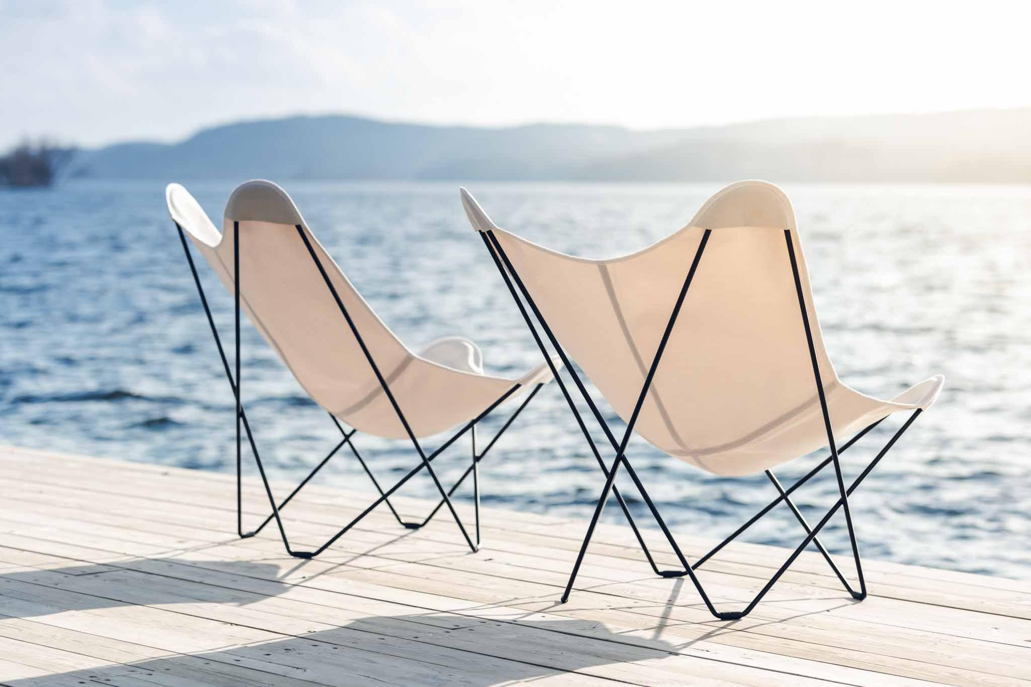 Silla Sunshine Mariposa de Cuero Design en Maxim Confort Mallorca