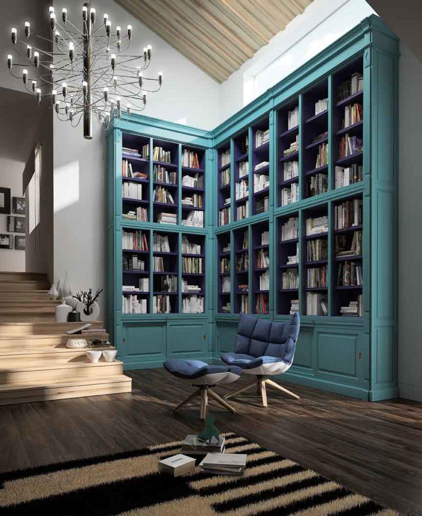 HAMSTER Libreria de La Ebanisteria en Maxim Confort Mallorca