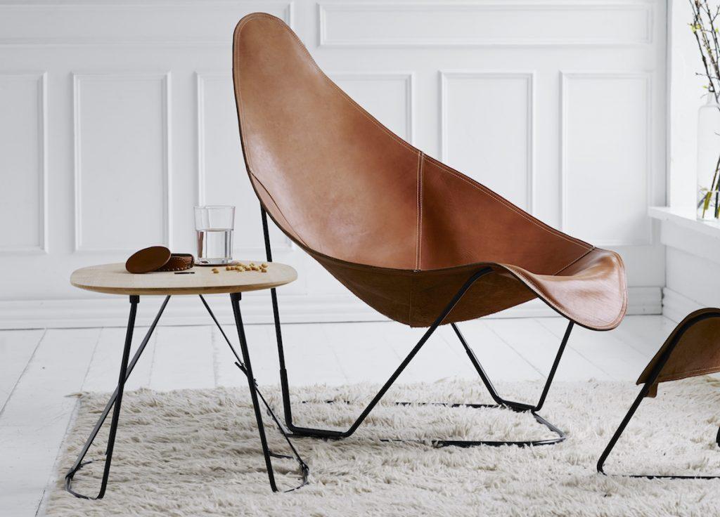 sillón Abrazo de Cuero Design en Maxim Confort Mallorca