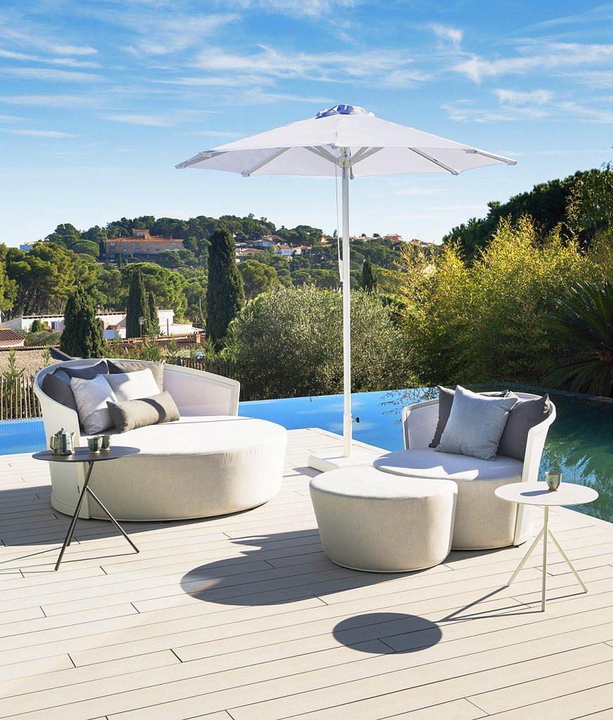 Ventura para terraza piscina en Mallorca