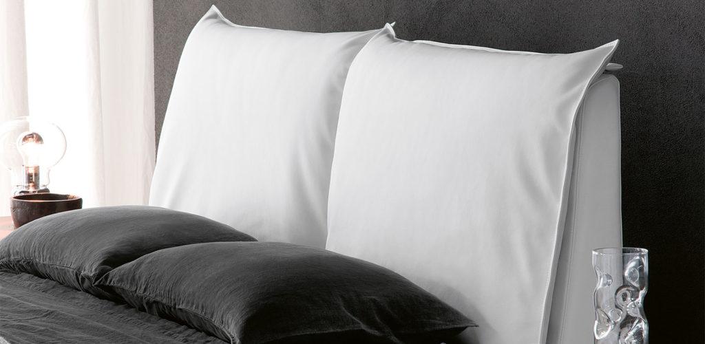 Detalle cama Lukas de Cattelan en Maxim Confort Mallorca