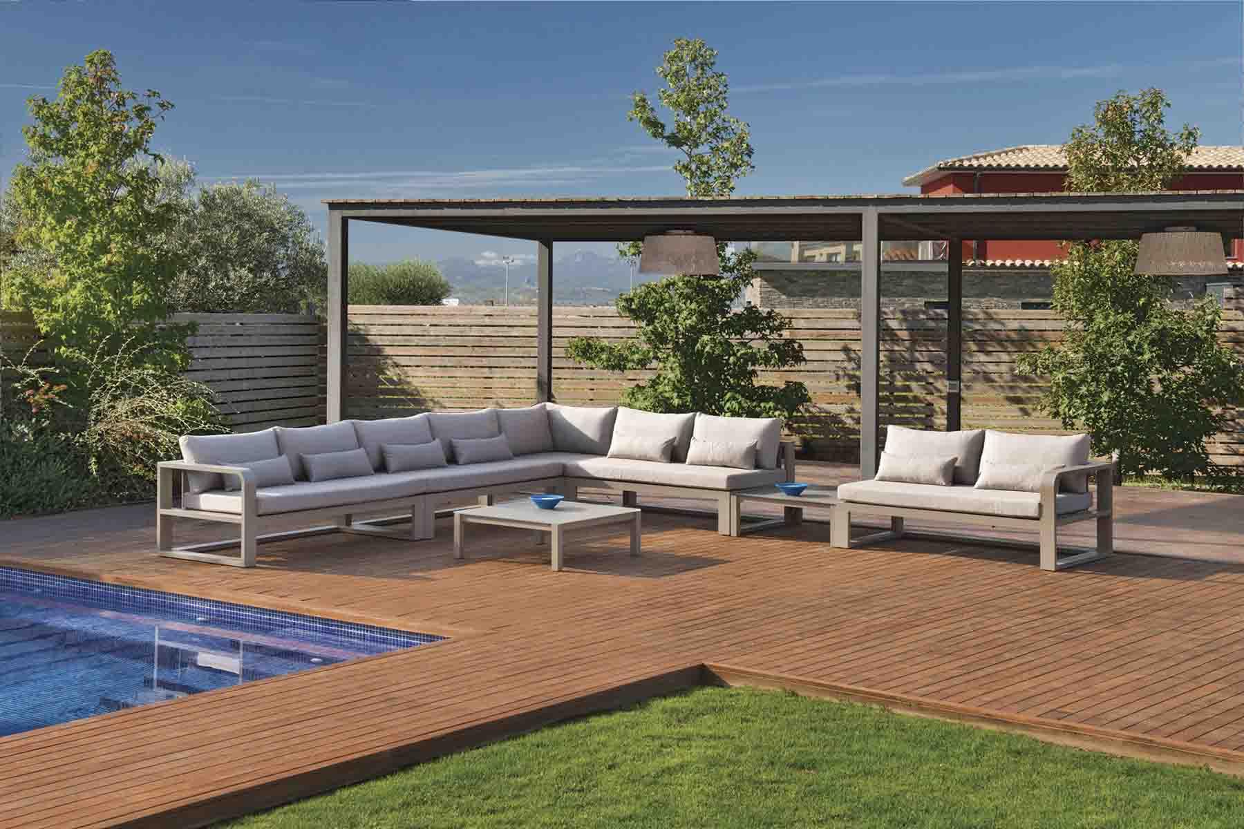 Corner sofas for terrace in Mallorca