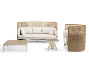 Colección mobiliario de terraza Esedra de Ethimo