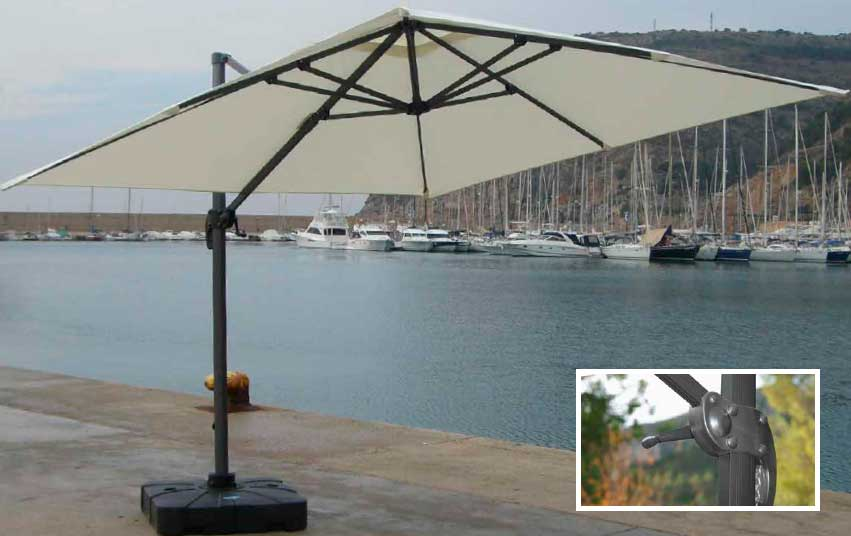 ANNA umbrellas from Arkimuebles in Mallorca